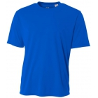 A4 Men's Performance Crew Shirt (Royal) - Tennis Apparel Brands
