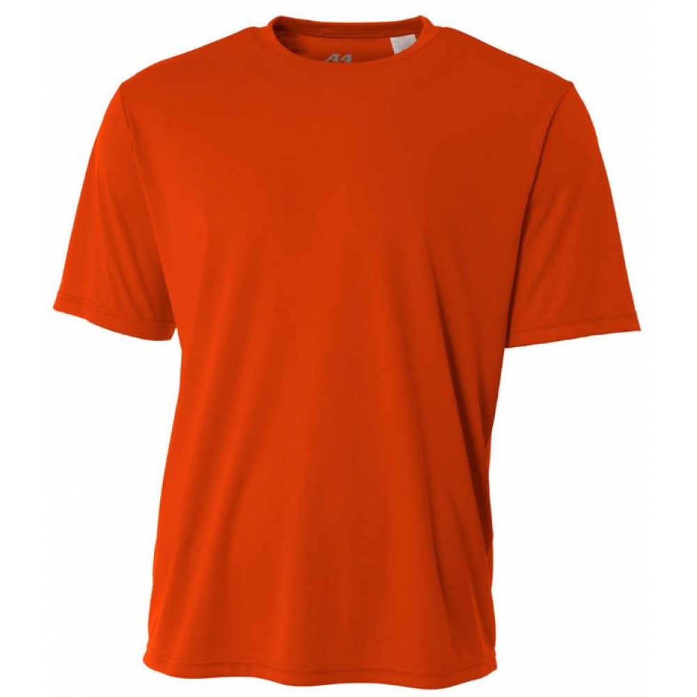 A4 Men's Performance Crew Shirt (Orange)