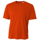 A4 Men's Performance Crew Shirt (Orange) - Men's Tennis Apparel