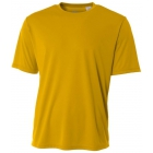 A4 Men's Performance Crew Shirt (Gold) - A4 Men's Tennis T-Shirts & Crew Necks