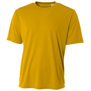 A4 Men's Performance Crew Shirt (Gold)