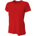 A4 Women's Cooling Performance Crew (Scarlet) - Women's Tops