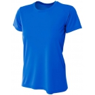 A4 Women's Cooling Performance Crew (Royal) - A4 Women's T-Shirts & Crew Necks