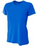 A4 Women's Cooling Performance Crew (Royal) - A4 Women's Tennis T-Shirts & Crew Necks