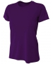 A4 Women's Cooling Performance Crew (Purple) - A4 Women's Apparel