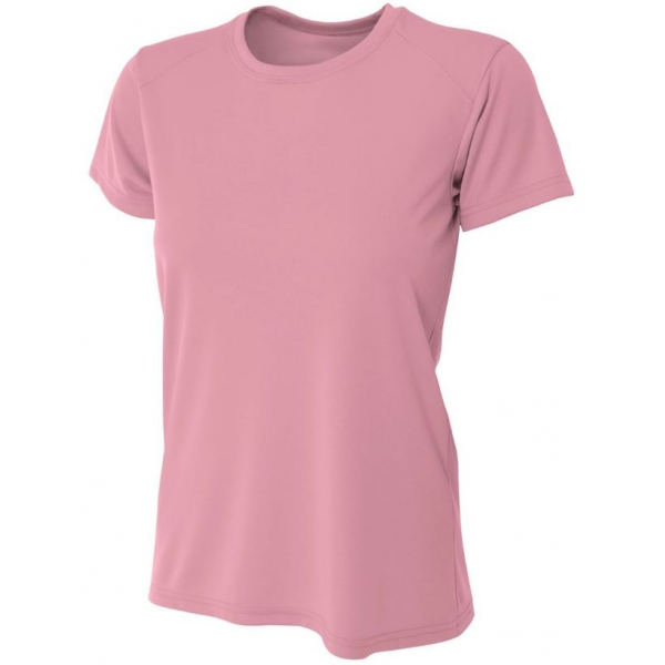 A4 Women's Cooling Performance Crew (Pink)
