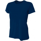 A4 Women's Cooling Performance Crew (Navy) - Women's Tops