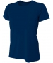 A4 Women's Cooling Performance Crew (Navy) - A4 Women's Tennis T-Shirts & Crew Necks