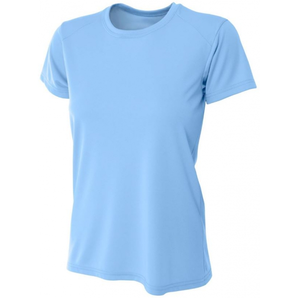 A4 Women's Cooling Performance Crew (Light Blue)