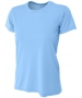 A4 Women's Cooling Performance Crew (Light Blue) - A4 Women's Apparel