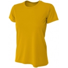A4 Women's Cooling Performance Crew (Gold) - Women's Tennis Apparel
