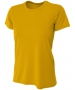 A4 Women's Cooling Performance Crew (Gold) - A4 Women's Tennis T-Shirts & Crew Necks