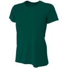 A4 Women's Cooling Performance Crew (Forest) - A4 Women's Tennis T-Shirts & Crew Necks