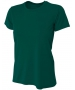 A4 Women's Cooling Performance Crew (Forest) - A4 Women's Apparel