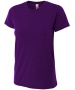 A4 Women's Performance Tri Blend Tee (Purple) - A4 Women's Apparel
