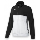 Adidas Women's T16 Team Jacket (Black/ White) - Women's Tennis Apparel