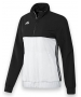 Adidas Women's T16 Team Jacket (Black/ White) - Women's Warm-Ups