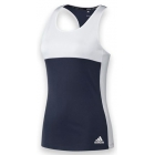 Adidas Women's T16 Team Tank (Navy/ White) - Women's Tennis Apparel