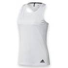 Adidas Women's T16 Team Tank (White/ White) - Women's Tennis Apparel