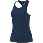 Adidas Women's Climachill Tank (Steel/ Black) - Women's Tennis Apparel