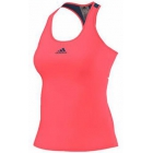 Adidas Women's Pro Tank (Flash Red/ Steel) - Tennis Apparel