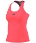 Adidas Women's Pro Tank (Flash Red/ Steel) - Adidas Women's Tennis Apparel