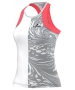Adidas Stella McCartney Barricade Tank-NYC (White/Oyster/Flash Red) - Adidas Women's Tennis Apparel