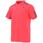 Adidas Men's Barricade Polo (Flash Red/Tech Ink) - Tennis Apparel