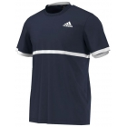 Adidas Men's Court Tee (Navy/White) - Tennis Apparel