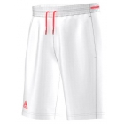 Adidas Men's Club Bermuda (White/Flash Red) - Adidas Men's Apparel