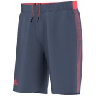 Adidas Men's Barricade Short Bermuda (Tech Ink/Flash Red) - Adidas Men's Apparel