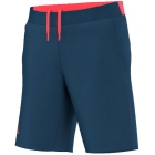 Adidas Men's Pro Short (Tech Steel/Flash Red) - Adidas Men's Tennis Apparel