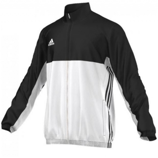 Adidas Men's T16 Team Jacket (Black/White)