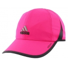 Adidas Women's Adizero II Cap (Pink/ Dark Grey) - Tennis Accessories