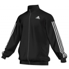 Adidas Men's Club Jacket (Black/White) - Men's Tennis Apparel