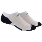 Adidas Men's ClimaCool II 2-Pack No Show, Large (White/Black/Royal) - Tennis Apparel