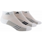 Adidas Women's ClimaCool Superlite 3-Pack Low Cut (White/Onix) - Adidas Apparel