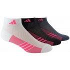 Adidas Women's ClimaCool Superlite 3-Pack Low Cut (White/Black/Onix) - Adidas Apparel