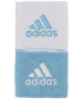 Adidas Interval Reversible Tennis Wristband (Light Blue/ White) - Mother's Day Clearance Sale