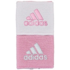 Adidas Interval Reversible Tennis Wristband (Light Pink/White) -