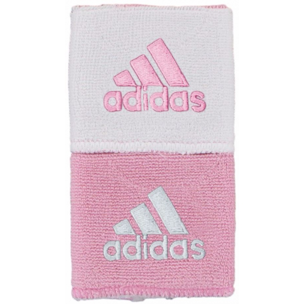 Adidas Interval Reversible Tennis Wristband (Light Pink/White)