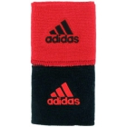 Adidas Interval Reversible Tennis Wristband (Red/Black) - Adidas Apparel