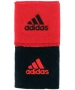 Adidas Interval Reversible Tennis Wristband (Red/Black) - Adidas