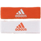 Adidas Interval Reversible Tennis Headband (Orange/White) -