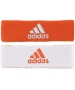 Adidas Interval Reversible Tennis Headband (Orange/White) - Adidas