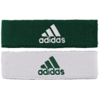 Adidas Interval Reversible Tennis Headband (Forest/White) -