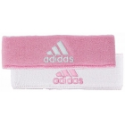 Adidas Interval Reversible Tennis Headband (Light Pink/White) - Adidas Apparel