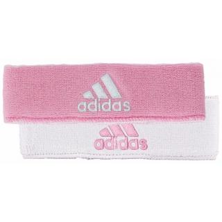 Adidas Interval Reversible Tennis Headband (Light Pink/White)