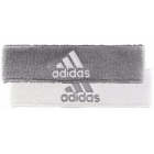 Adidas Interval Reversible Tennis Headband (Grey/White) - Adidas Apparel