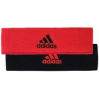 Adidas Interval Reversible Tennis Headband (Red/Black) - Adidas Apparel